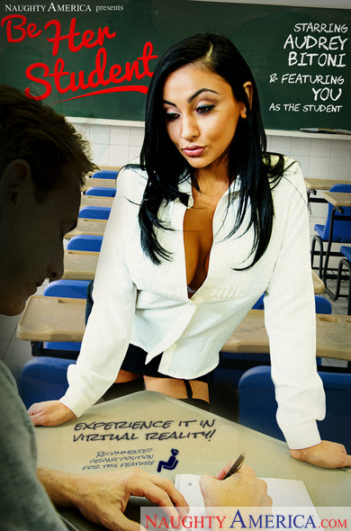"Audrey Bitoni, Ryan Mclane In My First Sex Teacher – ""Be the Student!"""
