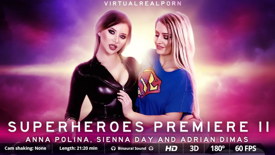 Superheroes Premiere II