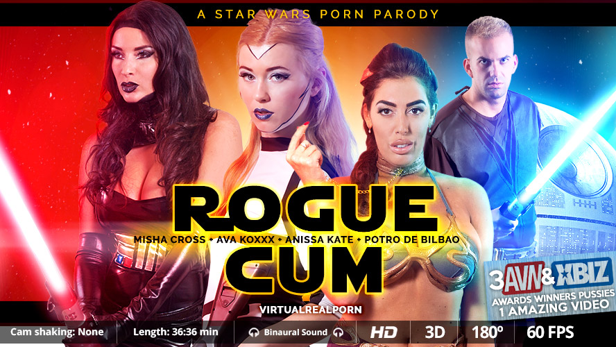 Rogue cum VR Porn