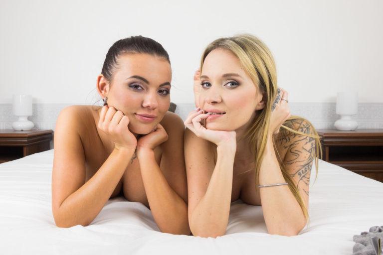 Vanessa Decker and Angel Piaff Foot Fetish VR Porn